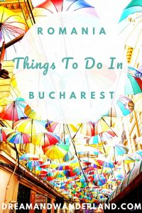 Things to do in Bucharest. Travel tips. Sights in Romania. #travel #getaway #citytrip #thingstodo
