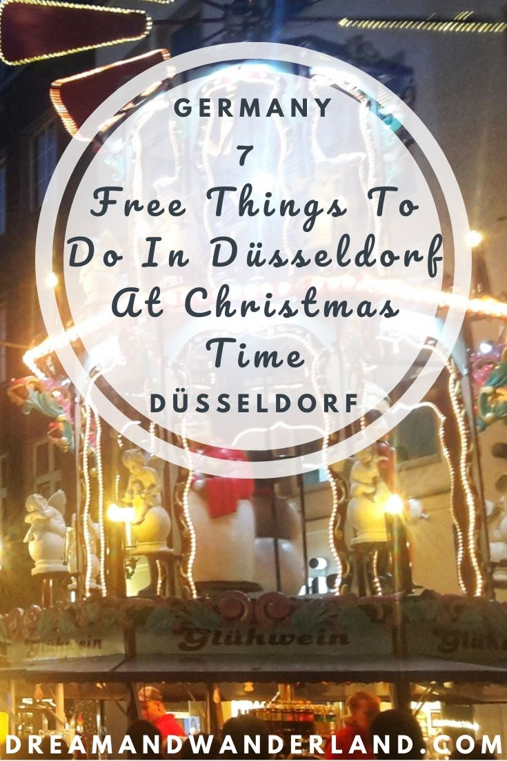 Travel to Germany and spend your vacation in Düsseldorf! Spend a perfect festive season without spending too much money and find free things to do in Düsseldorf during Christmas time!