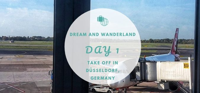 Day 1 - Take off in Düsseldorf, Germany #travel #diary #solo #düsseldorf