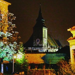 Romania: 7 Terrific Reasons For Visiting Brasov: Black Church by night
