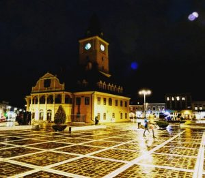 Romania: 7 Terrific Reasons For Visiting Brasov: Council Square by night