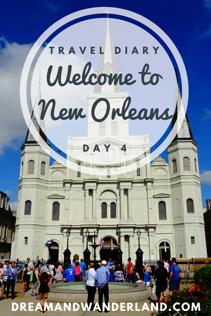 Day 4 - Welcome to NOLA! Welcome to New Orleans. Day 4 of my travel diary. #travel #diary #travelingsolo #solo