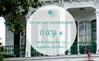 Day 6 - New Orleans, Louisiana - Remote work and the Garden District #travel #diary #traveling #solo