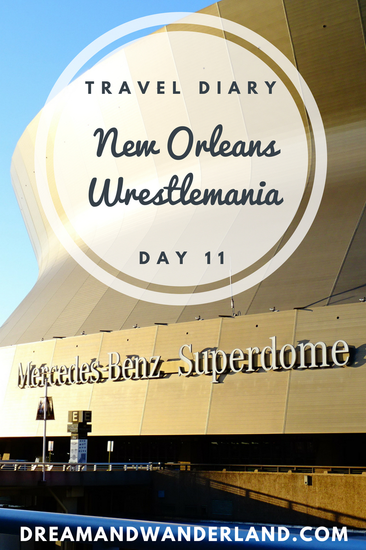 Day 11: Café du monde and Wrestlemania #cafedumonde #neworleans #nola #travelingsolo #travel #solo #inspiration #diary