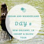 Day 8 – A Swamp And Bayou Tour