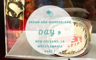Day 9 - New Orleans, Louisiana - Welcome to the Wrestling zone #wrestlemania #travel #wrestling #wwe #fanaxxess #travel #solo