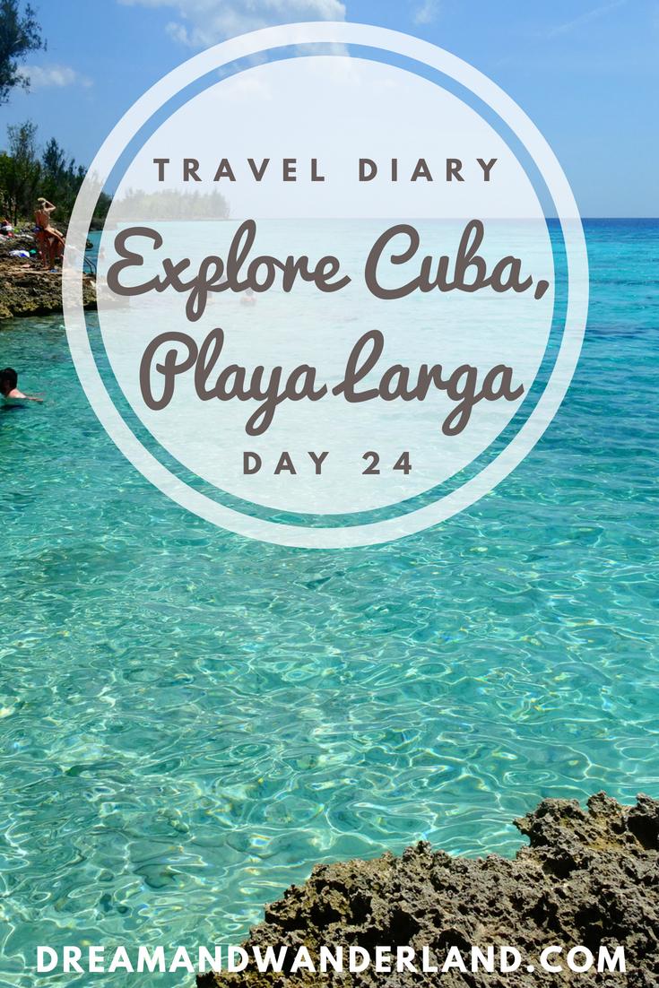 Day 24: A Day In Playa Larga #cuba #playalarga #travel #solo #roadtrip #thingstodo