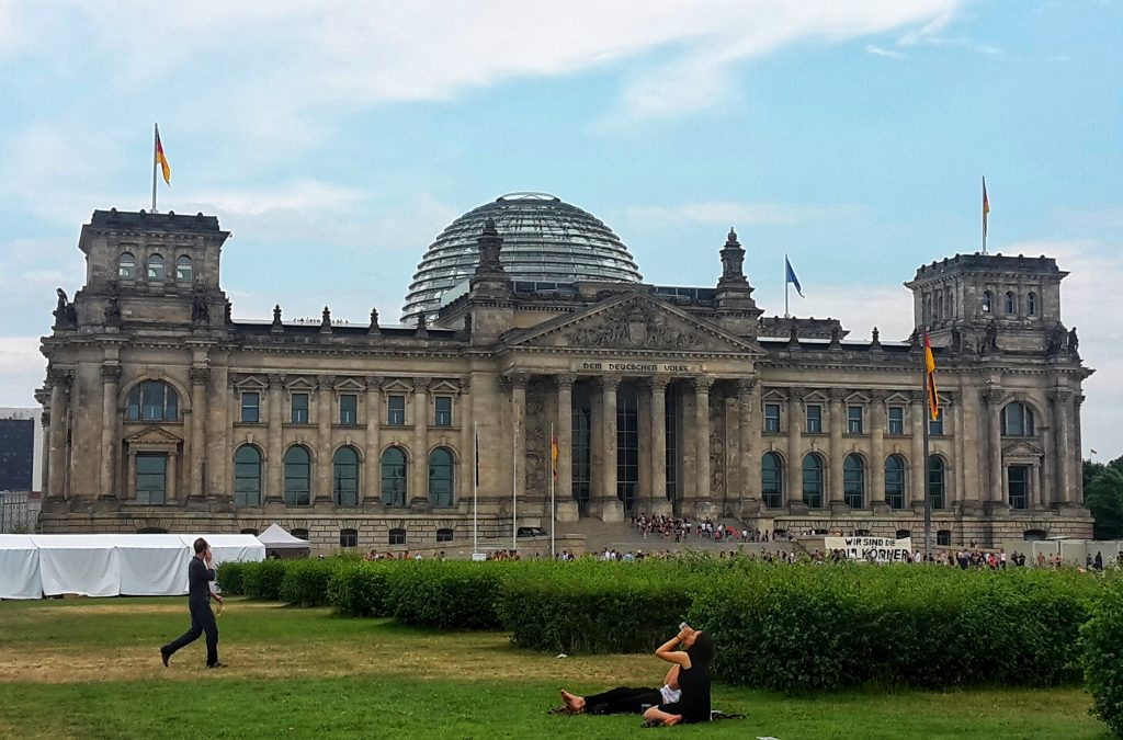 A Day in Berlin: Reichstag #Berlin #Germany #sightseeing #travel #solo #citytrip #thingstodo