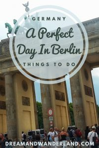 A Day in Berlin! #Berlin #Germany #sightseeing #travel #solo #citytrip #thingstodo