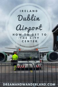 Dublin Airport: how to get to the city center #ireland #dublin #airport #howtoget #citycenter #thingstodo #transportation