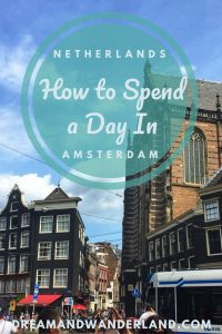 Have a wonderful day in Amsterdam, Netherlands #travel #thingstodo #daytrip #amsterdam #netherlands #summer