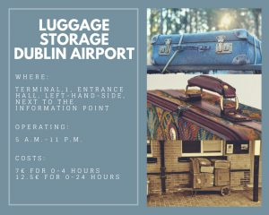 Dublin Airport: Short Facts Luggage Storage #luggage #storage #dublin #airport #leftluggage
