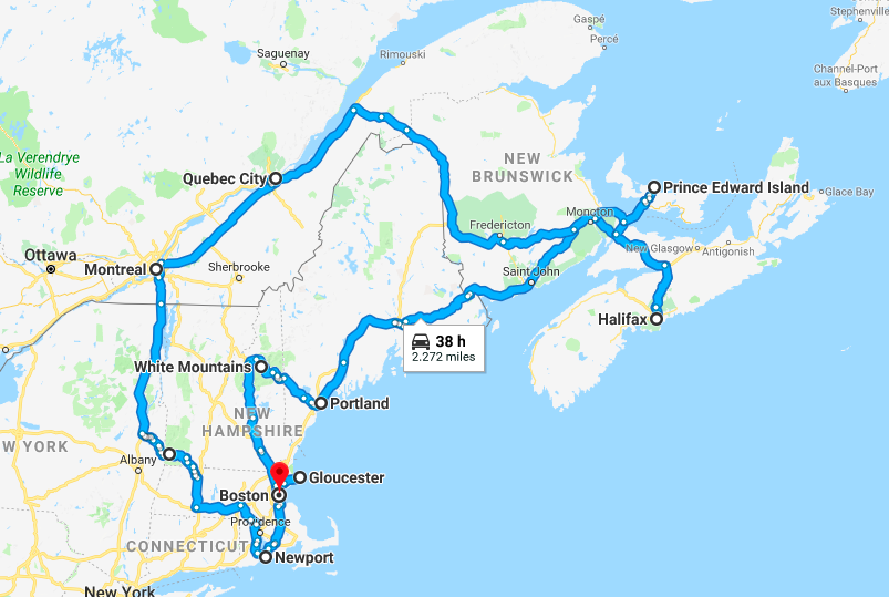 Indian Summer: New England and Eastern Canada road trip
