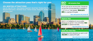 Indian Summer: Go City Card Boston