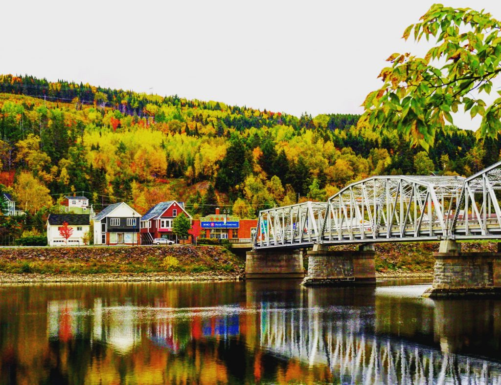 Indian Summer: Canada, New Brunswick, St. John River Valley