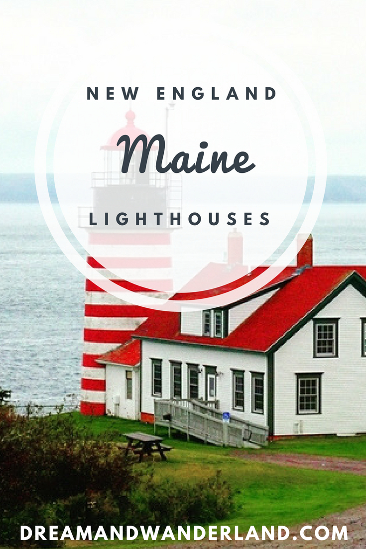 Lethes get ready for a road trip alongside the cost and visit the best lighthouses in Maine! #travel #solo #newengland #thingstodo