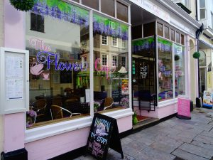 Day 4: Explore Plymouth - The Flower Café