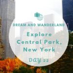 Day 22: A Day In New York City´s Central Park