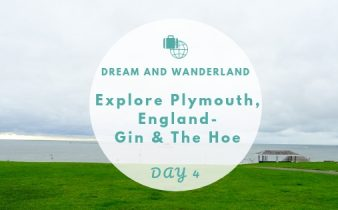 Day 4: Explore Plymouth - Mayflower Steps, Plymouth Gin & The Hoe #travel #solo #thingstodo