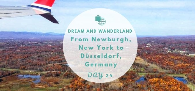 Day 24: From Newburgh, New York to Düsseldorf, Germany #travel #solo #usa #thingstodo #indiansummer #fallfoliage #hudsonriver