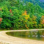 Indian Summer - New England - Things To Do In New Hampshire - White Mountains National Forest - Echo Lake