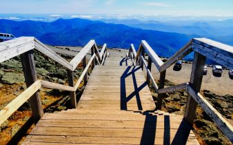 Indian Summer - New England - Things To Do In New Hampshire - White Mountain National Forest - Mount Washington #travel #raodtrip #solo
