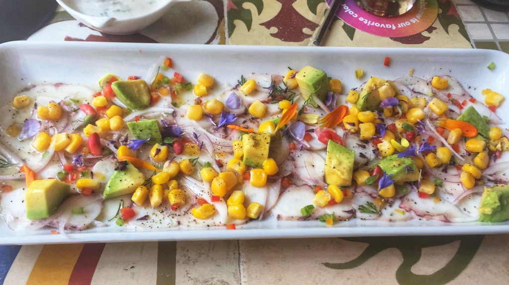 Day 15: Explore Cartagena - Ceviche #travel #solo #colombia #food