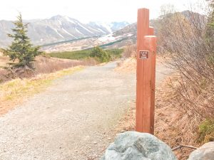 Unique Things To Do In Anchorage, Alaska - Flat Top Mountain Trail Signpost
