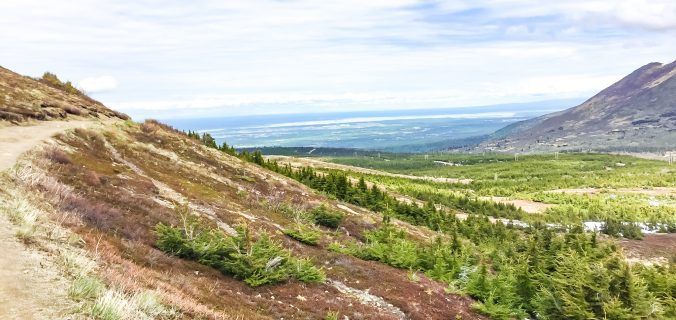 Unique Things To Do In Anchorage, Alaska - Hiking the Flat Top Mountain trail and have a view