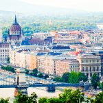 Things To Do In Budapest - View From Gellért Hill of Budapest and Danube. Explore and travel Hungary!