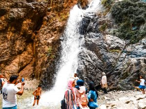 Visit Ourika Valley and find spectacular views and waterfalls. Only a day trip from Marrakech and a must do while traveling Morocco! #thingstodo #travel