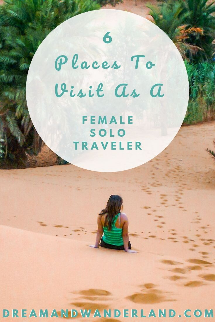 Traveling Solo and find the best destinations for your solo trip!