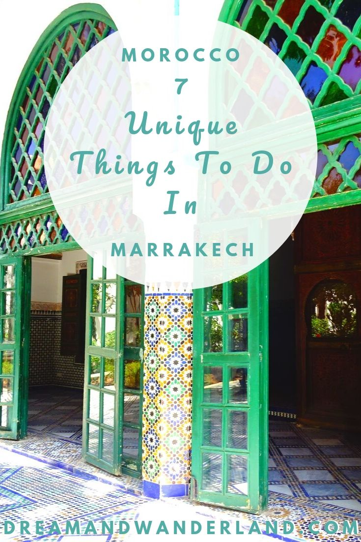 While traveling Morocco, a visit to Marrakech is a must do! So don't wait and have some unique and unforgettable experiences in Marrakech! #travel #africa #thingstodo