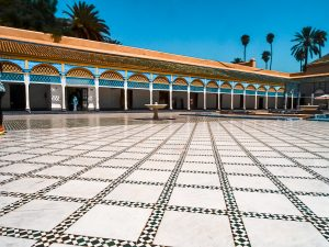 Palace Bahia is one of the things to do which you cannot miss! Traveling Morocco will be a once in a lifetime experience!