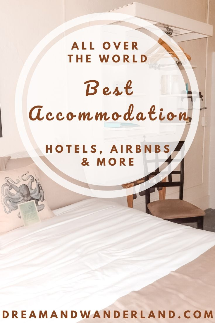 Find hotels, AirBnbs and best accommodations for your dream vacation, day trips, weekend trips, and other travel plans!