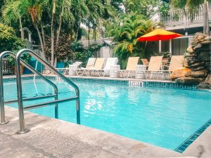 Like paradise! The pool at Eden House, Key West, Florida, USA! One of my favorite hotels! #travel #wheretostay #accommodation