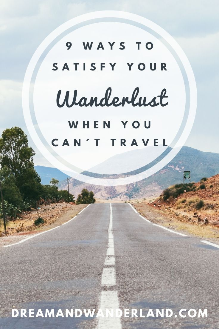 You´re stuck at home but want to travel? It doesn´t mean that you can´t travel at all! No matter if there is a global crisis you´re out of budget or just have no time to travel, there are plenty ways to get that feeling and satisfy your Wanderlust! Here are nine ideas of how to travel when you can´t leave home!
