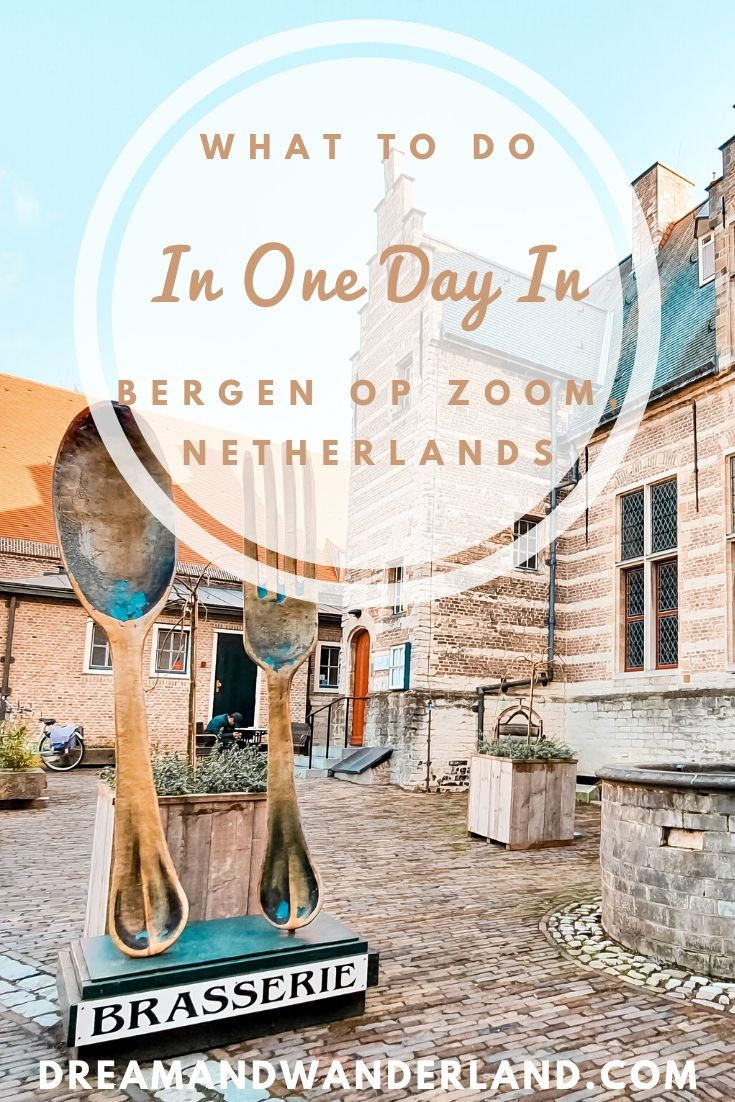 Things to do and what to see when traveling to Bergen op Zoom. Perfect for a day trip or staying the entire weekend. Explore The Netherlands and find charming Dutch towns.