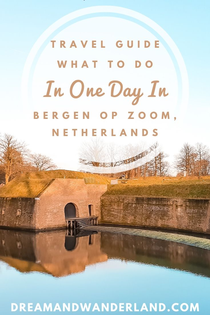 Things to do and what to see when traveling to Bergen op Zoom. Perfect for a day trip or staying the entire weekend. Travel the Netherlands and find charming Dutch towns. #discover #europe #vacation