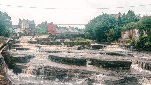 Cascades in Ennistymon near Falls Hotel & Spa in Ennistymon, County Clare, Ireland
