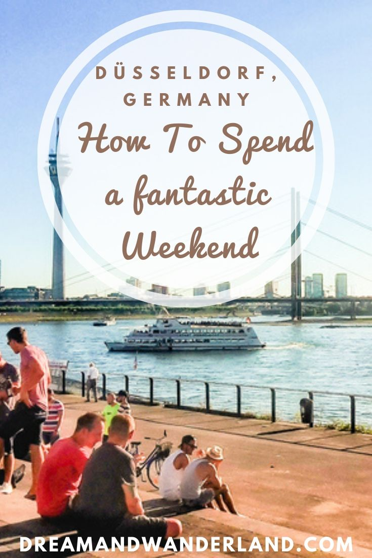 How to spend a fantastic weekend in Düsseldorf, Germany! Things to do, where to go, and what to see! Come and visit the most beautiful city on the Rhine! #europe #travel