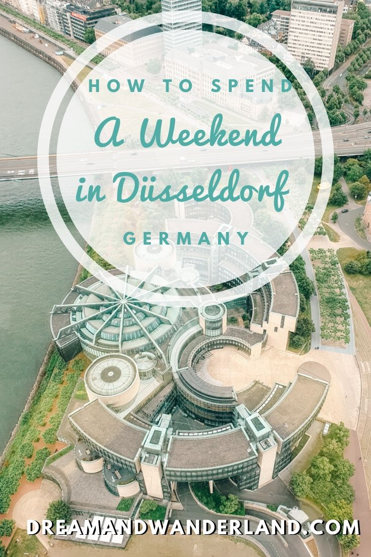 What to do on a weekend getaway in Düsseldorf, Germany? Learn about must-dos, things to do, and where to do! Travel to the most beautiful city on the Rhine!