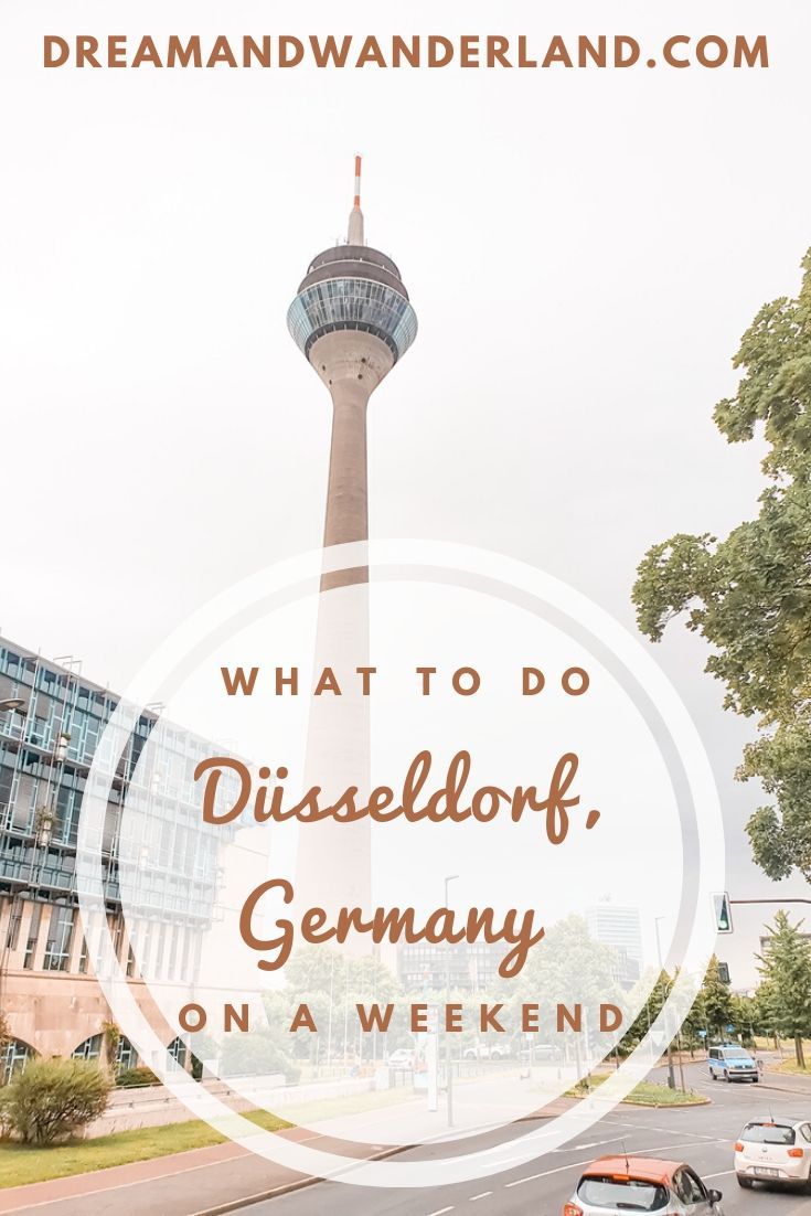 What to do in Düsseldorf, Germany on a weekend! Travel to this city in the lower Rhine region and enjoy the love of life, altbier, and food!