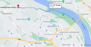 Walking alongside the Rhine from Düsseldorf Oberkassel to Meerbusch. #travel #Germany