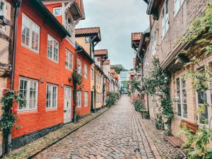 Charming lanes and streets in Flensburg! Travel Baltic Sea Coast and stay in this beautiful town and enjoy the flair!